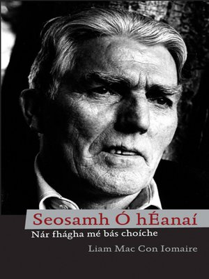 cover image of Seosamh Ó hÉanaí