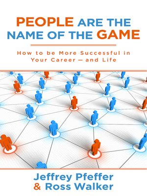cover image of People are the Name of the Game