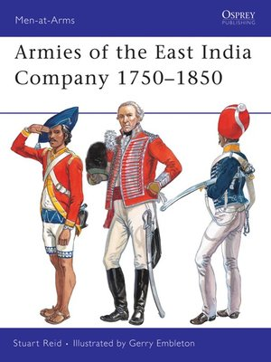 cover image of Armies of the East India Company 1750-1850