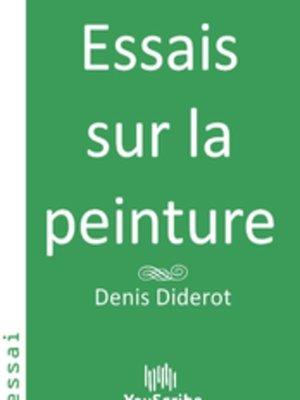 cover image of Essais sur la peinture