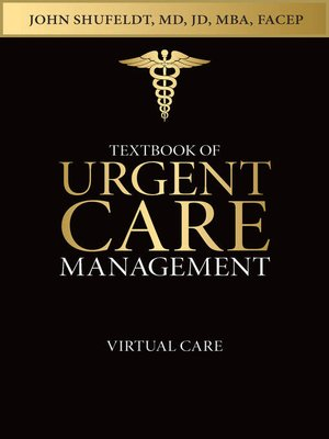 cover image of Textbook of Urgent Care Management