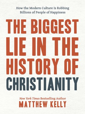 cover image of The Biggest Lie in the History of Christianity
