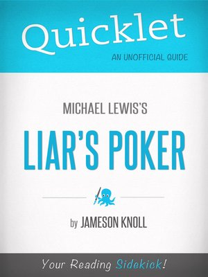 cover image of Quicklet on Liar's Poker by Michael Lewis