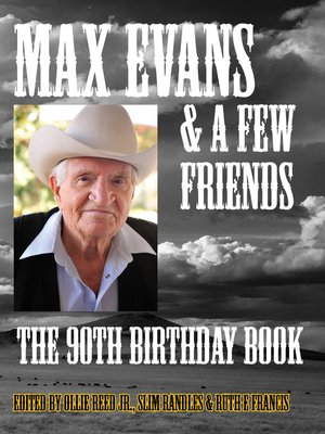 cover image of Max Evans and a Few Friends