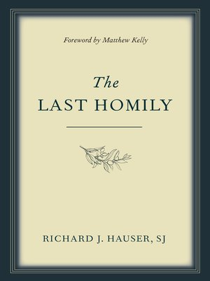 cover image of The Last Homily