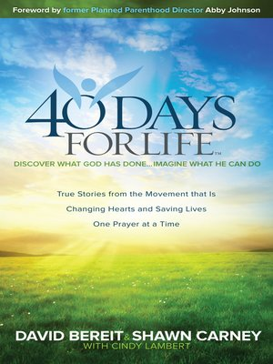 cover image of 40 Days for Life