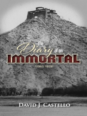 cover image of The Diary of an Immortal (1945-1959)