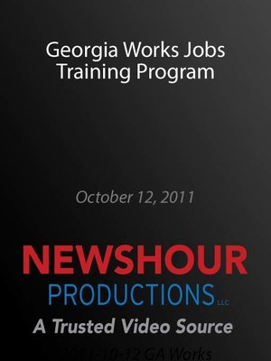 cover image of Georgia Works Jobs Training Program