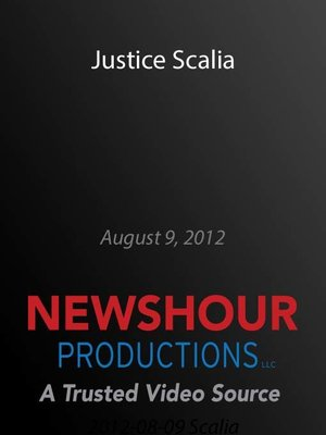 cover image of Justice Scalia