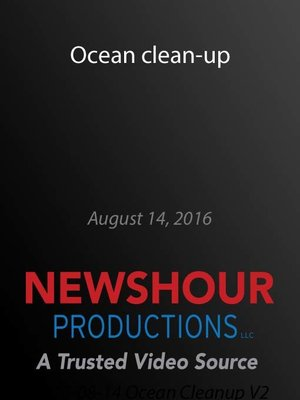 cover image of Ocean clean-up