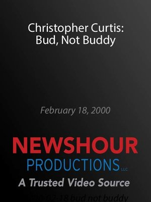"""cover image of Christopher Curtis: """"Bud, Not Buddy"""""""