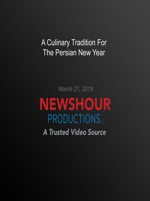 cover image of A Culinary Tradition For The Persian New Year