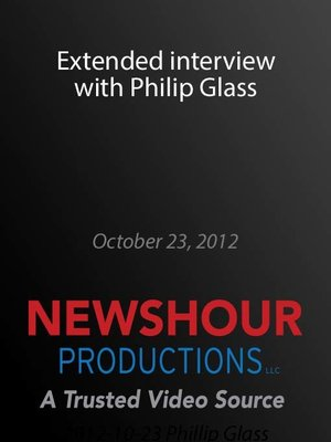 cover image of Extended interview with Philip Glass