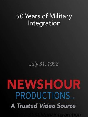 cover image of 50 Years of Military Integration