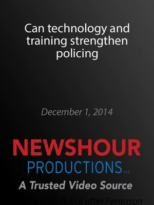 cover image of Can technology and training strengthen policing
