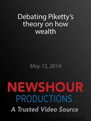cover image of Debating Piketty's theory on how wealth