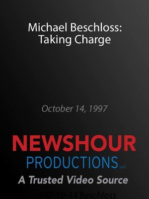 cover image of Michael Beschloss: Taking Charge