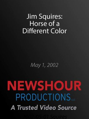 cover image of Jim Squires: Horse of a Different Color