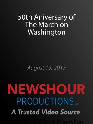 cover image of 50th Aniversary of The March on Washington