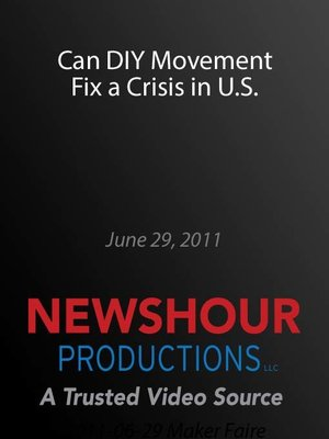 cover image of Can DIY Movement Fix a Crisis in U.S.