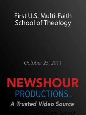 cover image of First U.S. Multi-Faith School of Theology