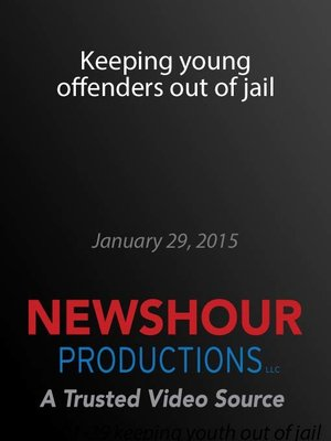 cover image of Keeping young offenders out of jail