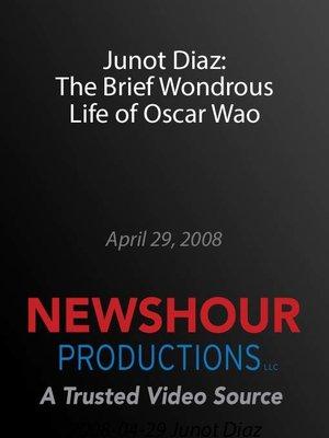 the brief wondrous life of oscar wao audiobook