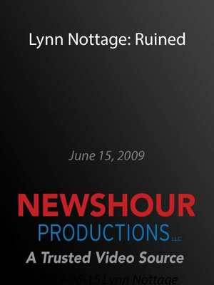 cover image of Lynn Nottage: Ruined