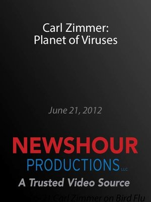 cover image of Carl Zimmer: Planet of Viruses
