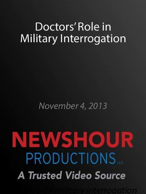 cover image of Doctors' Role in Military Interrogation
