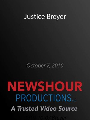 cover image of Justice Breyer