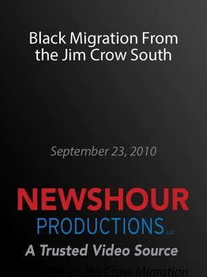 cover image of Black Migration From the Jim Crow South