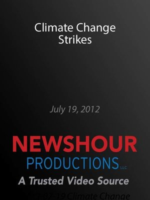 cover image of Climate Change Strikes