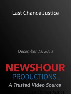 cover image of Last Chance Justice