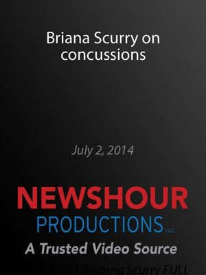 cover image of Briana Scurry on concussions