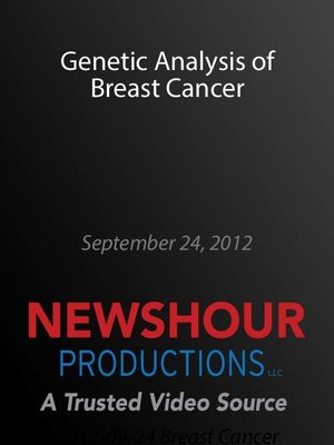 cover image of Genetic Analysis of Breast Cancer