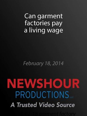 cover image of Can garment factories pay a living wage