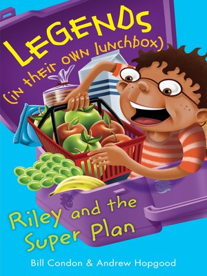 cover image of Riley and the Super Plan