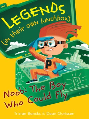 cover image of Noob, the Boy who Could Fly
