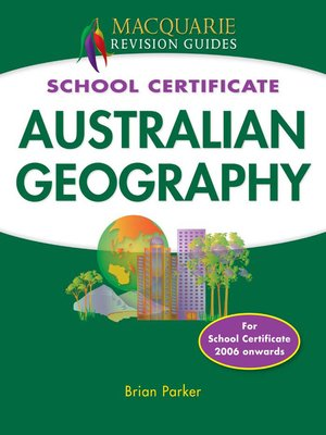 cover image of Macquarie Guide - SC Australian Geography