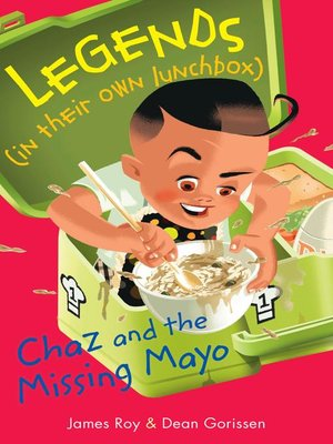 cover image of Chaz and the Missing Mayo