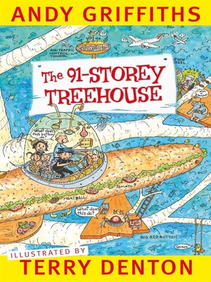 cover image of The 91-Storey Treehouse