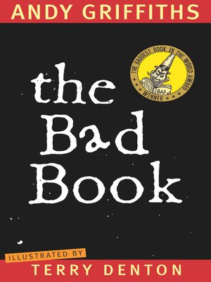 cover image of The Bad Book