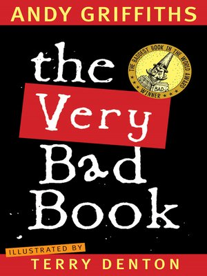cover image of The Very Bad Book