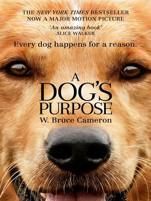 cover image of A Dog's Purpose