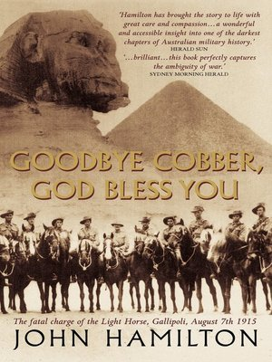 cover image of Goodbye Cobber, God Bless You