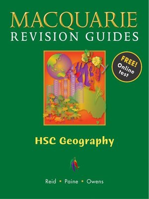 macquarie guide hsc geography by debra owens greg reid john paine rh overdrive com Revision Icon GCSE Revision Guides
