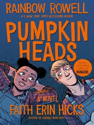 Pumpkinheads by Rainbow Rowell Book Cover