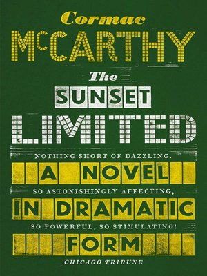 cover image of The Sunset Limited