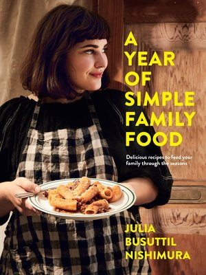 cover image of A Year of Simple Family Food